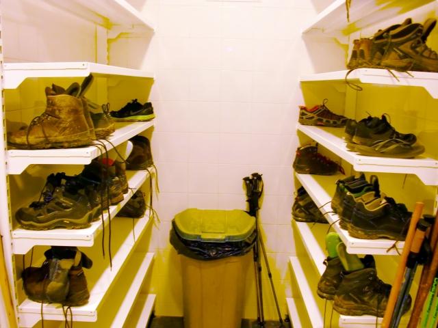 かなり臭い靴たち