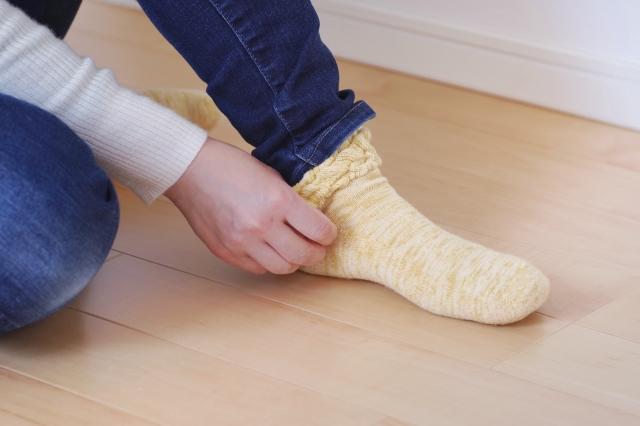 靴下のニオイが気になる!