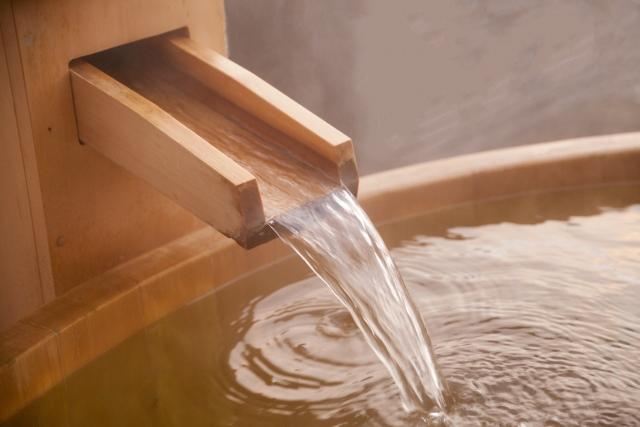 お風呂でリラックス・・・
