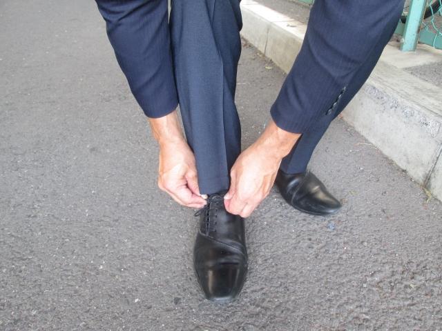 営業マンは足の臭いが気になる