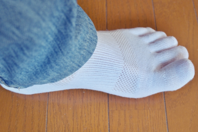五本指靴下は履きづらい?