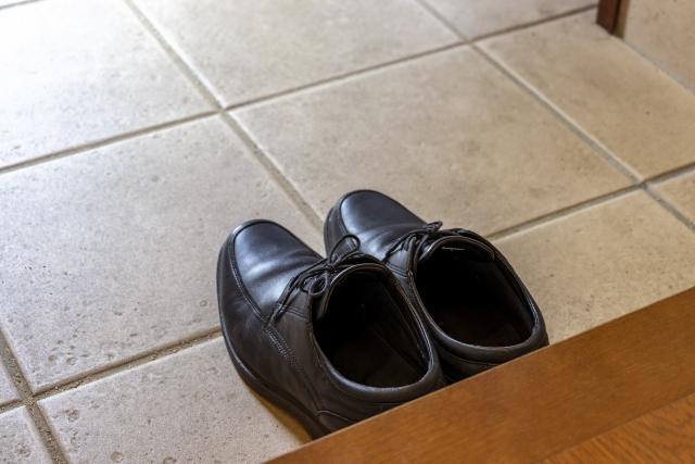 靴を脱ぐときにニオイが気になる