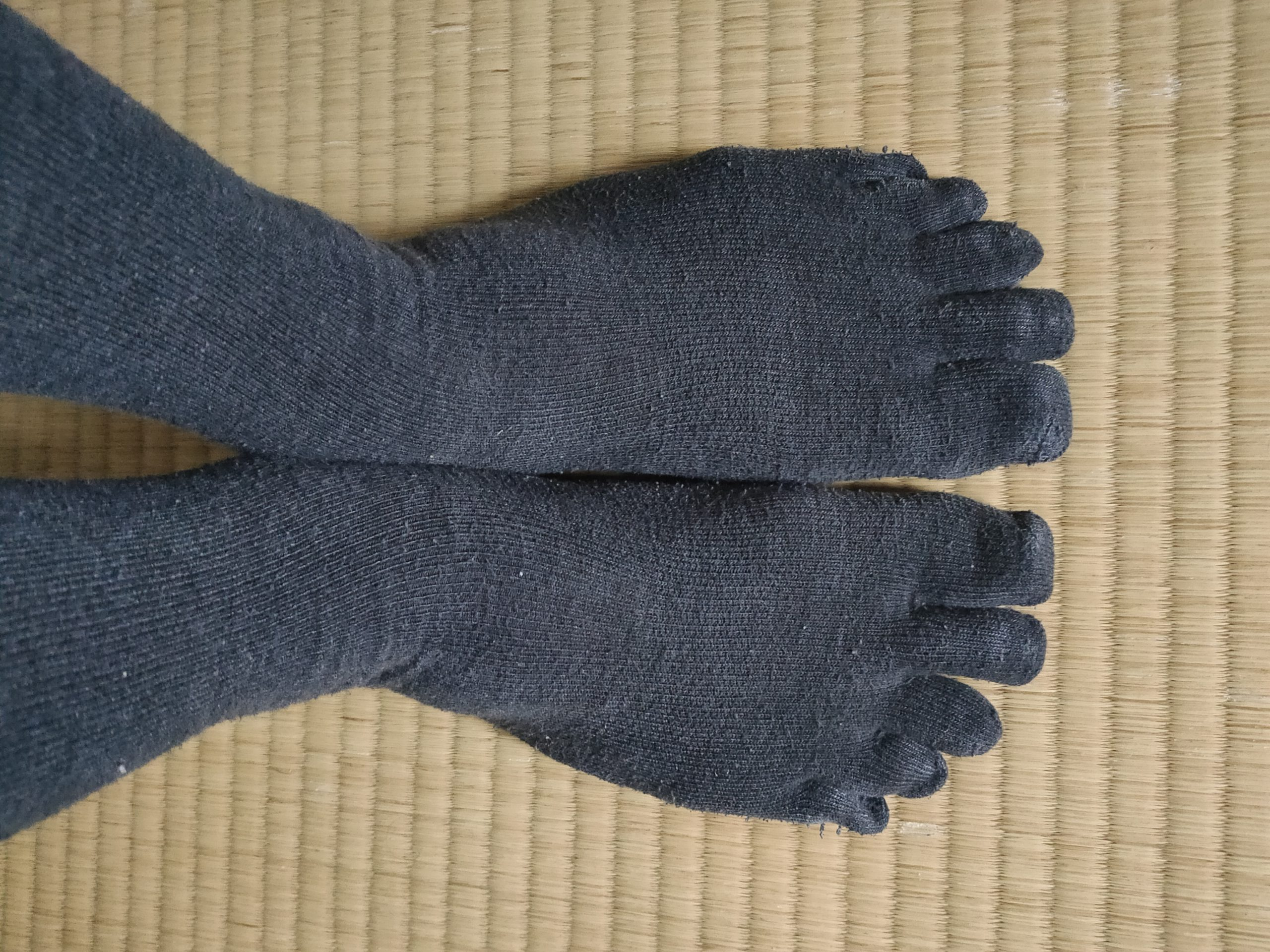 五本指靴下はおすすめだよ!