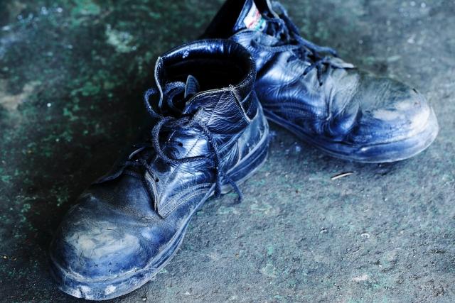 安全靴は臭い!