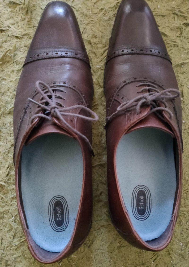 革靴にジェルアクティブ
