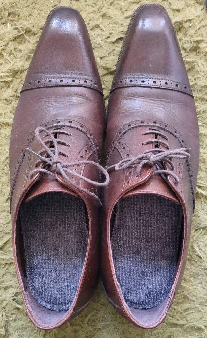 ブリーズブロンズ ブリーズエアーインソールを靴につけてみた