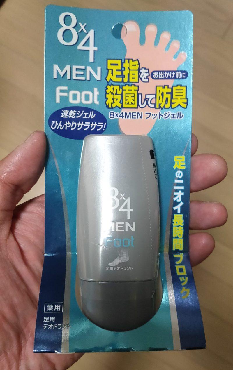 8×4MEN フットジェル