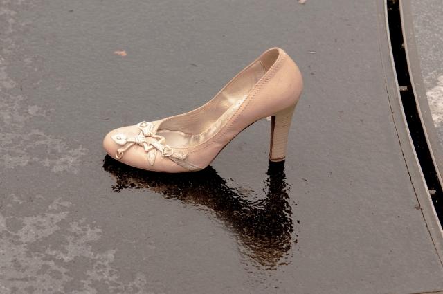 靴は早く乾かしましょう