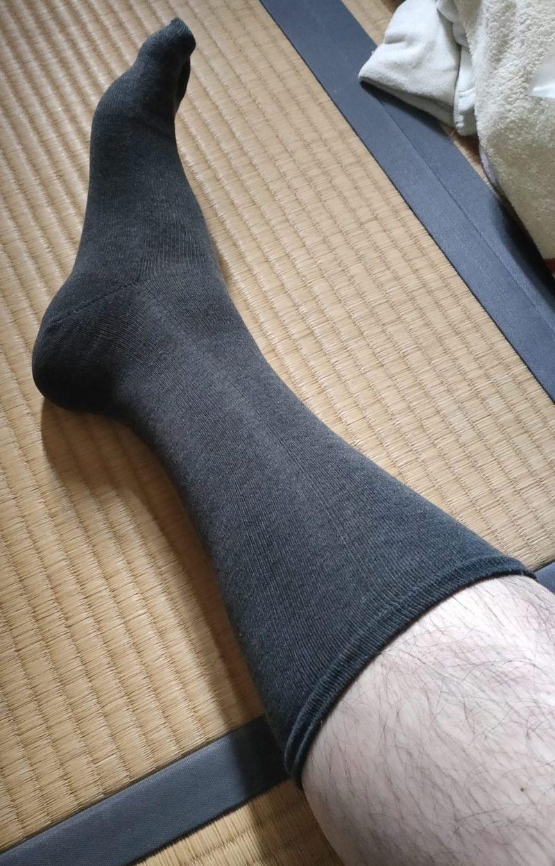 潔を極める 靴下 丈