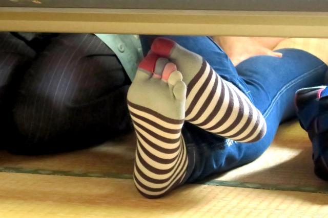 水虫ケアに靴下を有効活用しよう